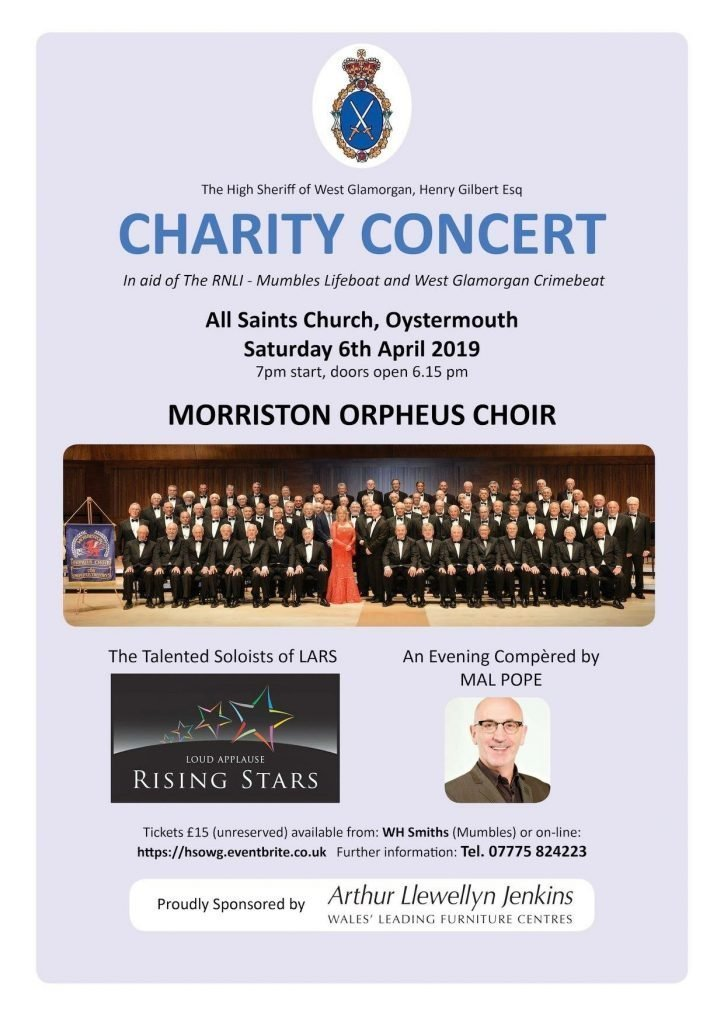All Saints Church Charity Night Poster